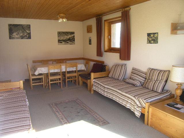 Location au ski Appartement 2 pièces 4 personnes (9) - Residence Le Genevrier - Méribel - Canapé