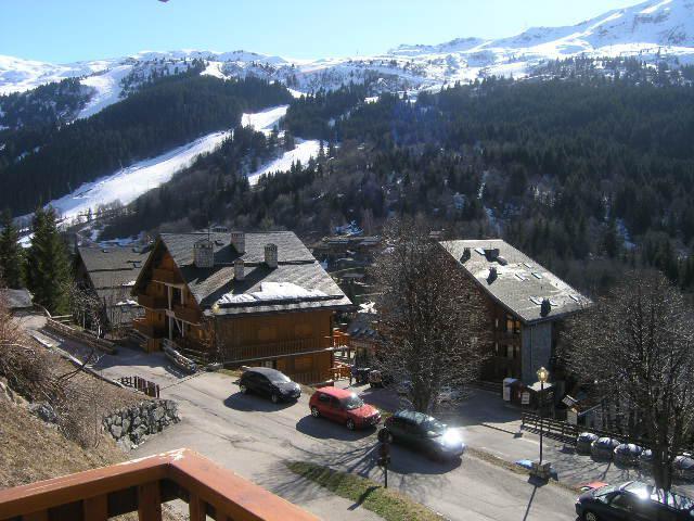 Location au ski Appartement 2 pièces 4 personnes (9) - Residence Le Genevrier - Méribel - Extérieur hiver