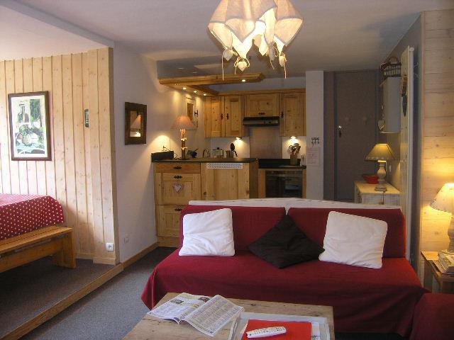 Location au ski Appartement 2 pièces 6 personnes (A2) - Residence Le Petaru - Méribel - Séjour