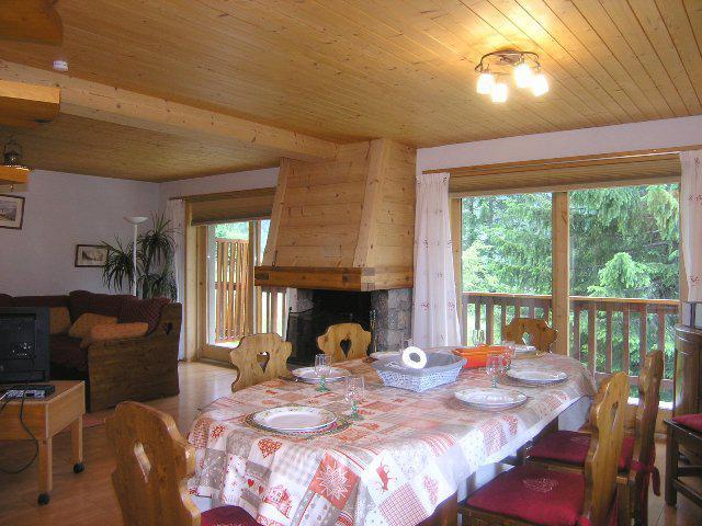 Location au ski Appartement duplex 4 pièces 8 personnes (1) - Residence Le Vallon - Méribel - Séjour
