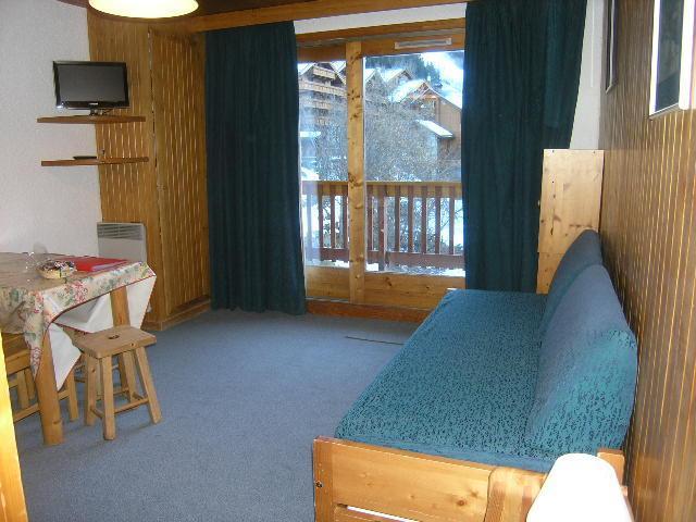 Location au ski Studio 4 personnes (21) - Residence Les Brimbelles - Méribel - Séjour