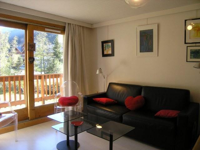Location au ski Studio divisible 6 personnes (10) - Residence Les Brimbelles - Méribel - Séjour