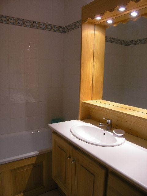 Location au ski Appartement 2 pièces 4 personnes (E7) - Residence Les Carlines - Méribel - Salle de bains
