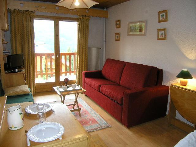 Location au ski Appartement 2 pièces 4 personnes (E7) - Residence Les Carlines - Méribel - Séjour
