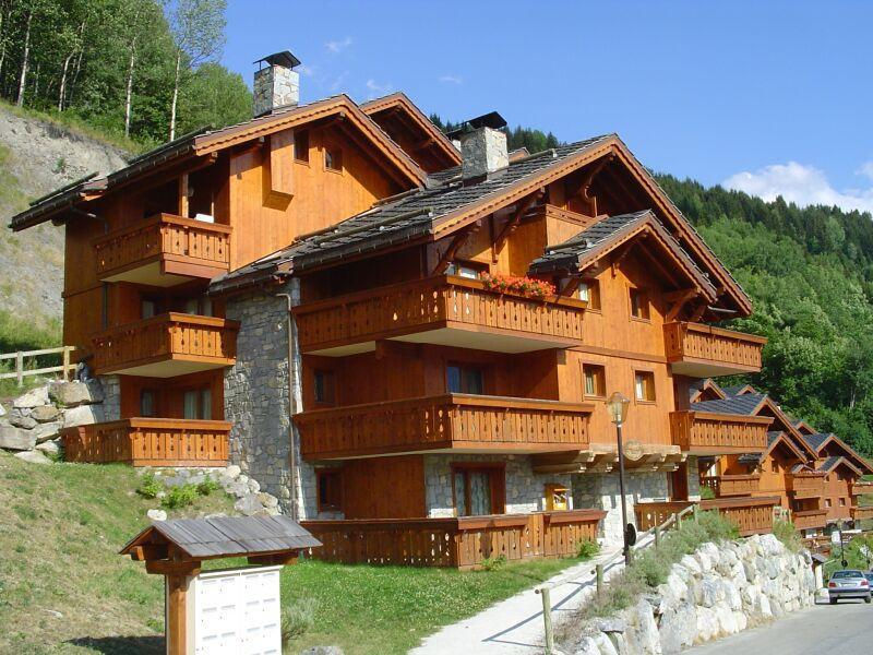 Location au ski Residence Les Fermes De Meribel Bat D - Méribel