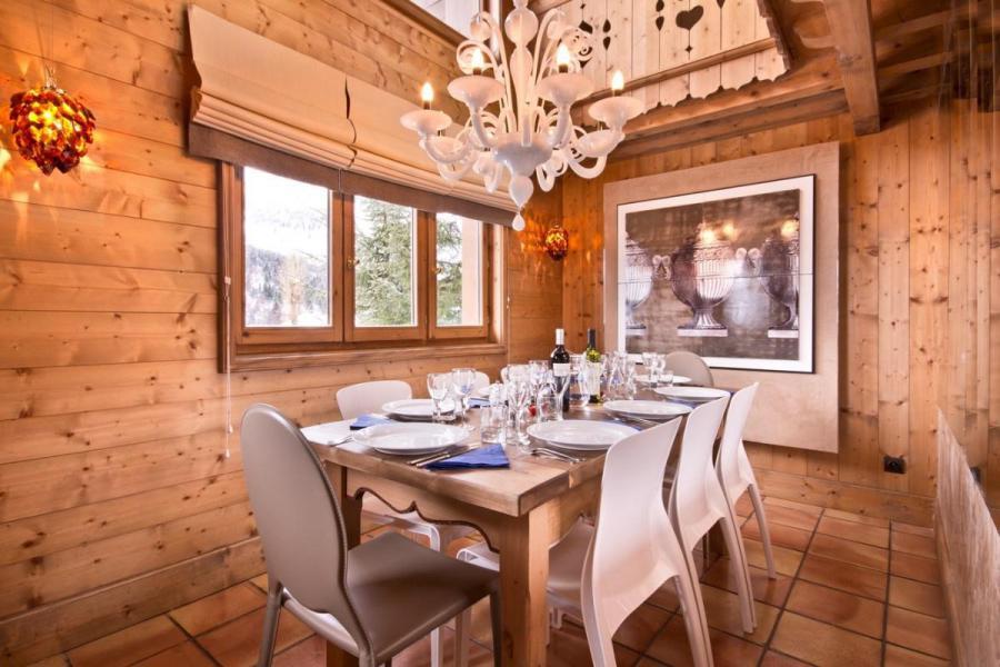 Alquiler al esquí Chalet Brioche - Méribel - Comedor