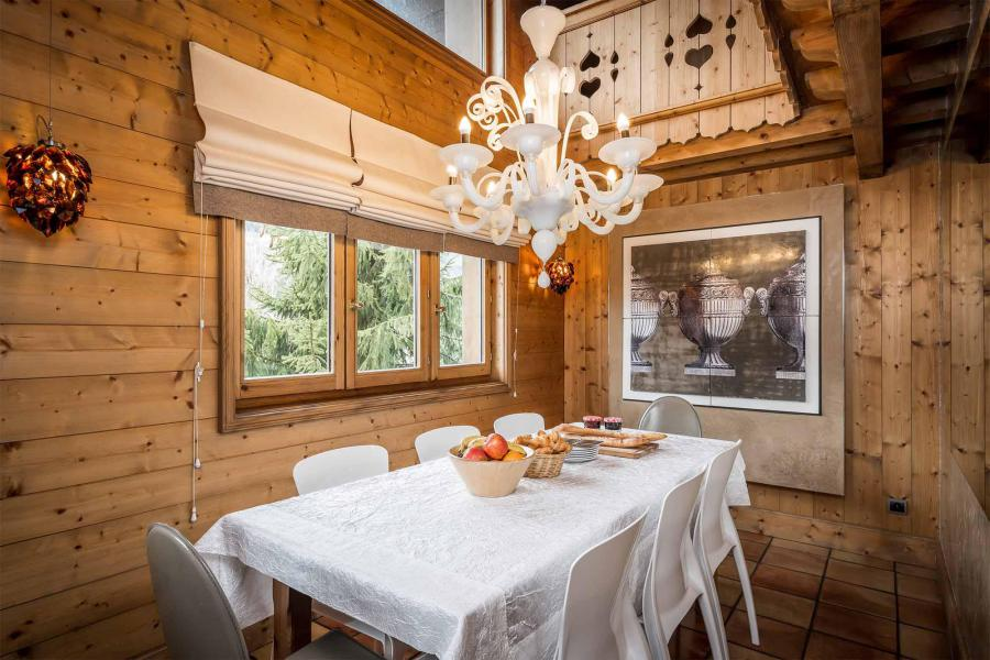 Аренда на лыжном курорте Chalet Brioche - Méribel - Столова&
