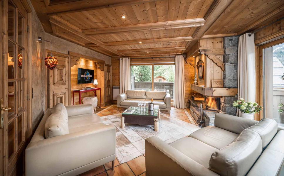 Аренда на лыжном курорте Chalet Brioche - Méribel - Салон
