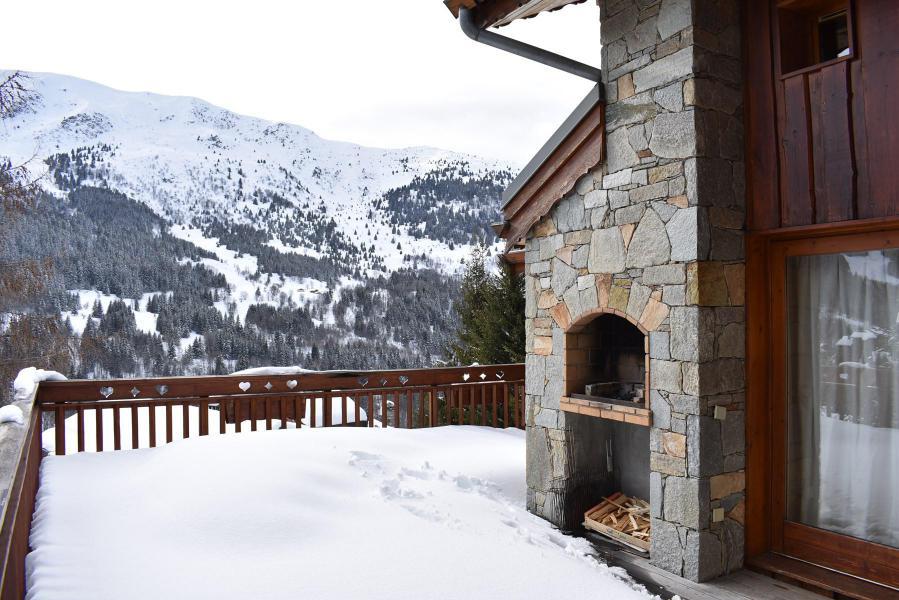 Vacances en montagne Chalet 6 pièces 12 personnes - Chalet Cret Voland - Méribel - Extérieur hiver