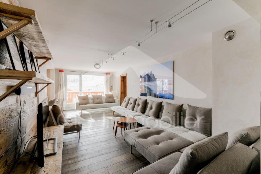 Wynajem na narty Apartament 6 pokojowy 10 osób (10) - Chalet de Méribel - Méribel - Pokój gościnny