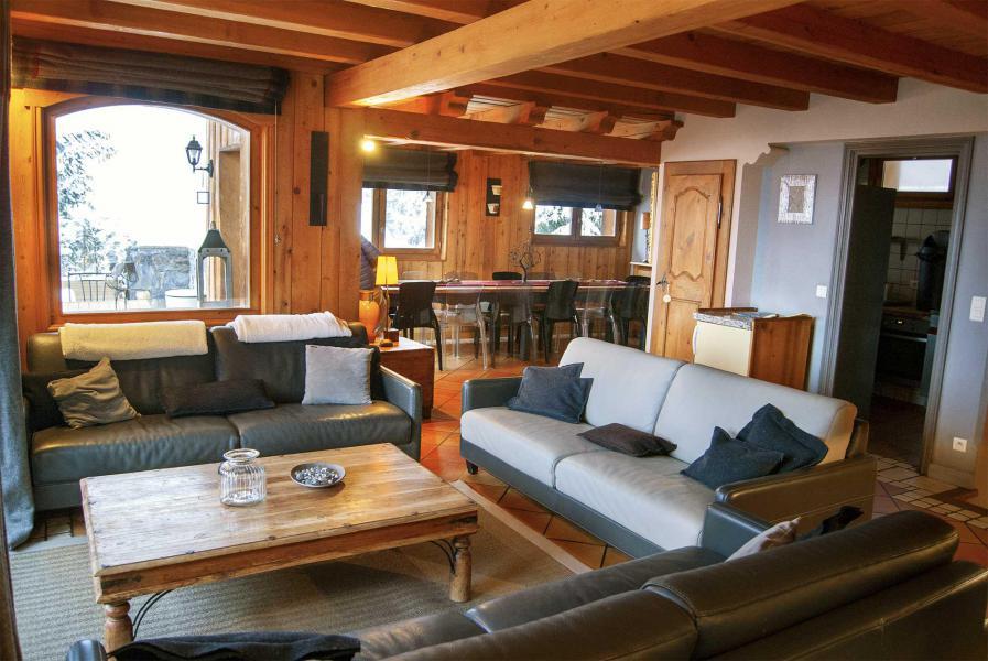 Location au ski Chalet Etienne - Méribel - Séjour