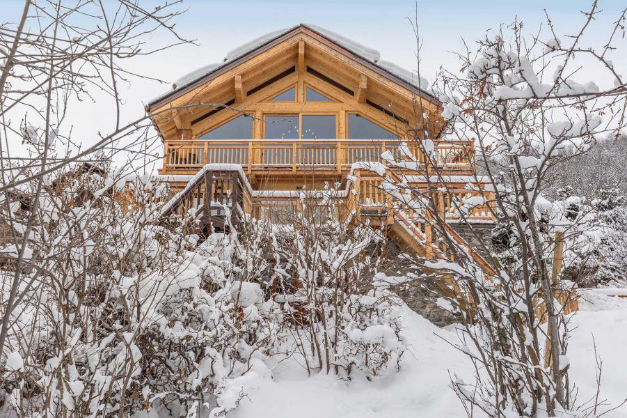 Location au ski Chalet Iona - Méribel - Extérieur hiver