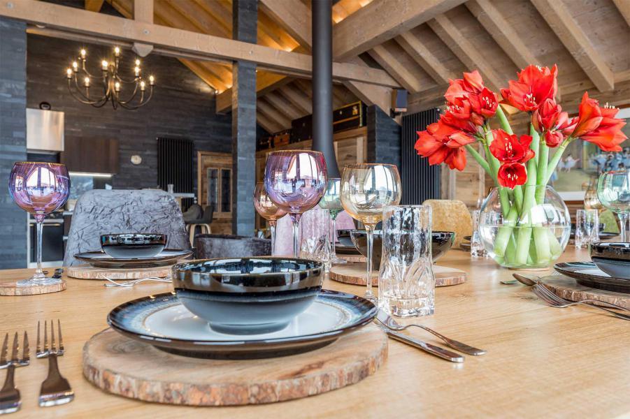 Location au ski Chalet Iona - Méribel - Salle à manger
