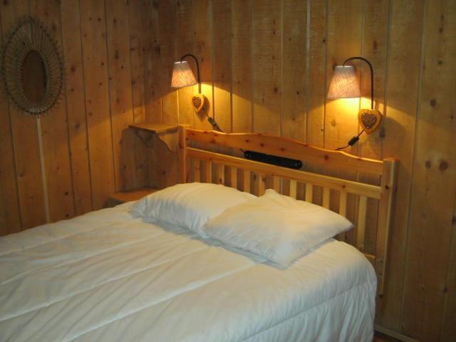 Location au ski Chalet duplex 4 pièces 8 personnes - Chalet la Gittaz - Méribel - Lit double