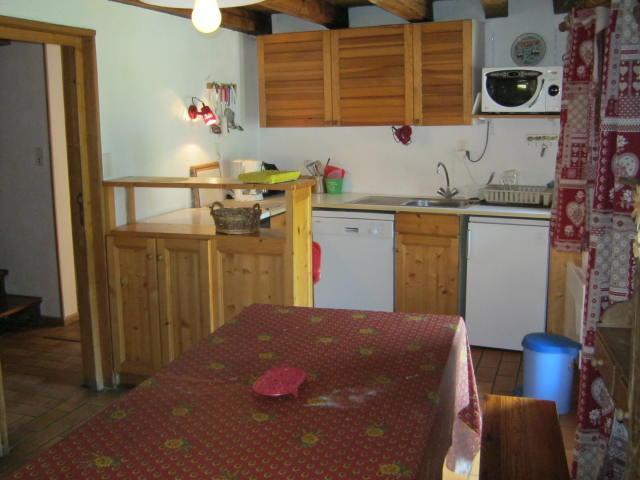 Location au ski Chalet duplex 4 pièces 8 personnes - Chalet La Gittaz - Méribel - Salle à manger