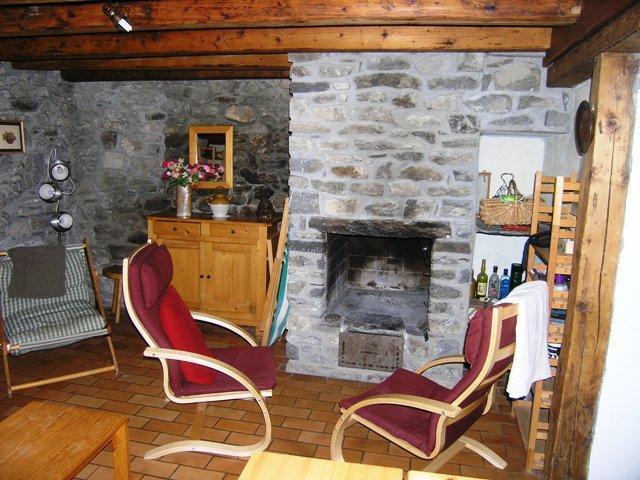 Location au ski Chalet duplex 4 pièces 8 personnes - Chalet la Gittaz - Méribel - Séjour
