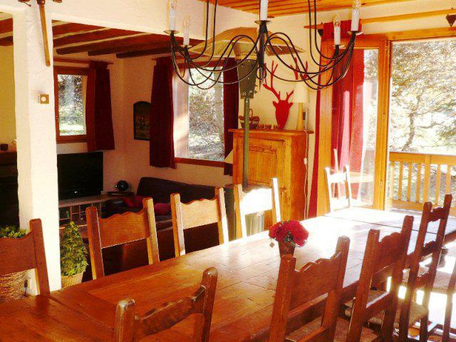 Wynajem na narty Domek górski 8 pokojowy 14 osób - Chalet le Doron - Méribel