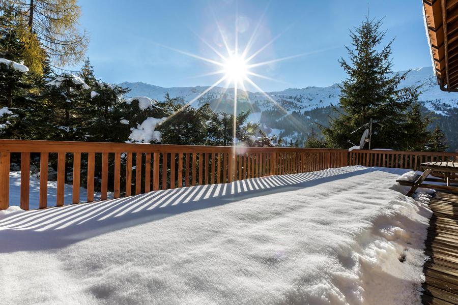 Holiday in mountain resort 7 room chalet 12 people - Chalet le Grillon - Méribel - Winter outside