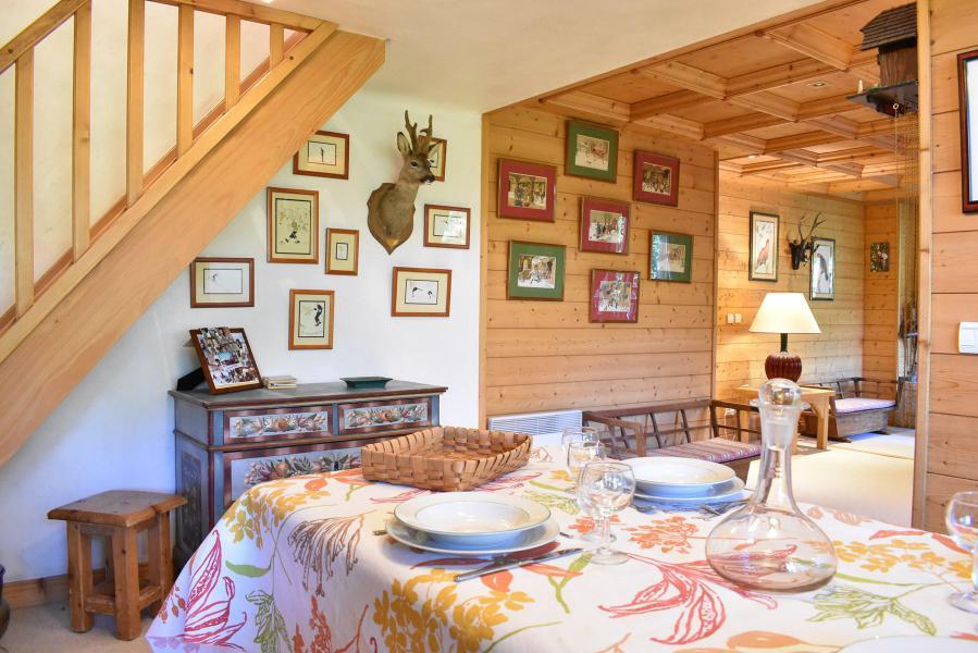 Wynajem na narty Apartament 7 pokojowy 12 osób - Chalet les Sollières - Méribel