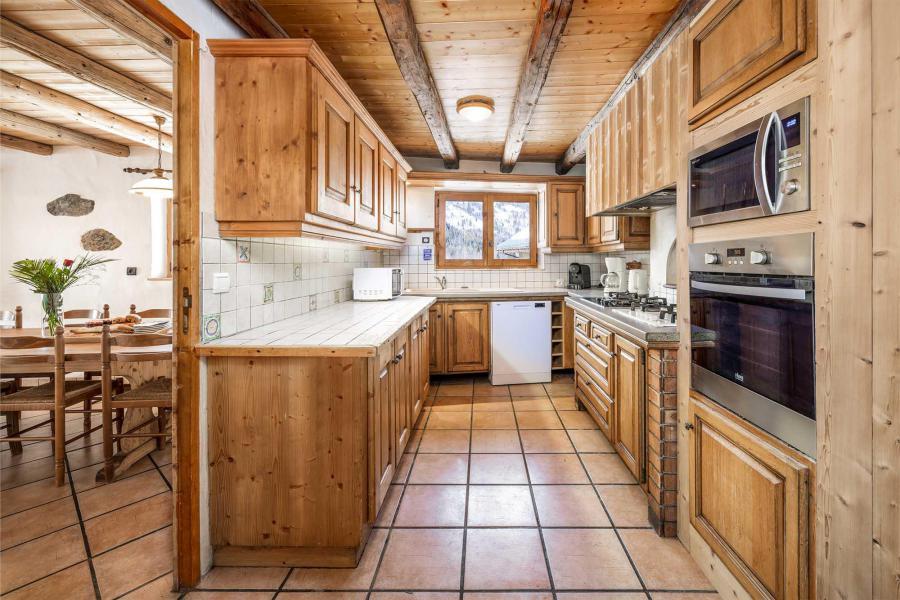 Аренда на лыжном курорте Chalet Lou Traves - Méribel - Кухня
