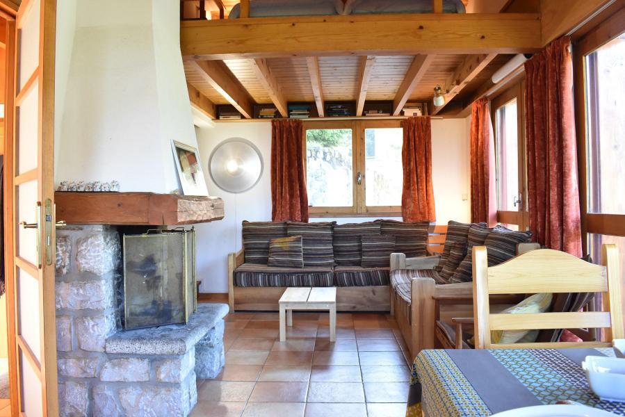 Location au ski Chalet 5 pièces mezzanine 10 personnes - Chalet Manekineko - Méribel - Séjour