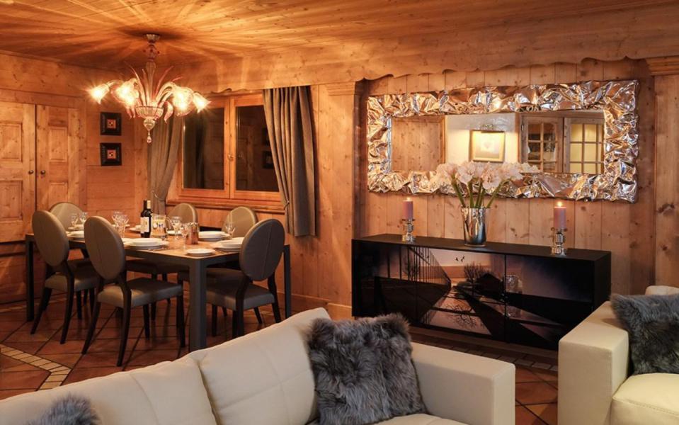 Аренда на лыжном курорте Chalet Marielaine - Méribel - Столова&