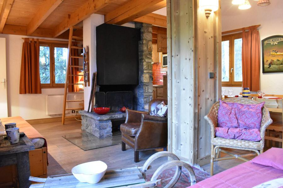 Alquiler al esquí Chalet duplex 3 piezas para 6-8 personas (tarnad) - Chalet Tara - Méribel - Estancia