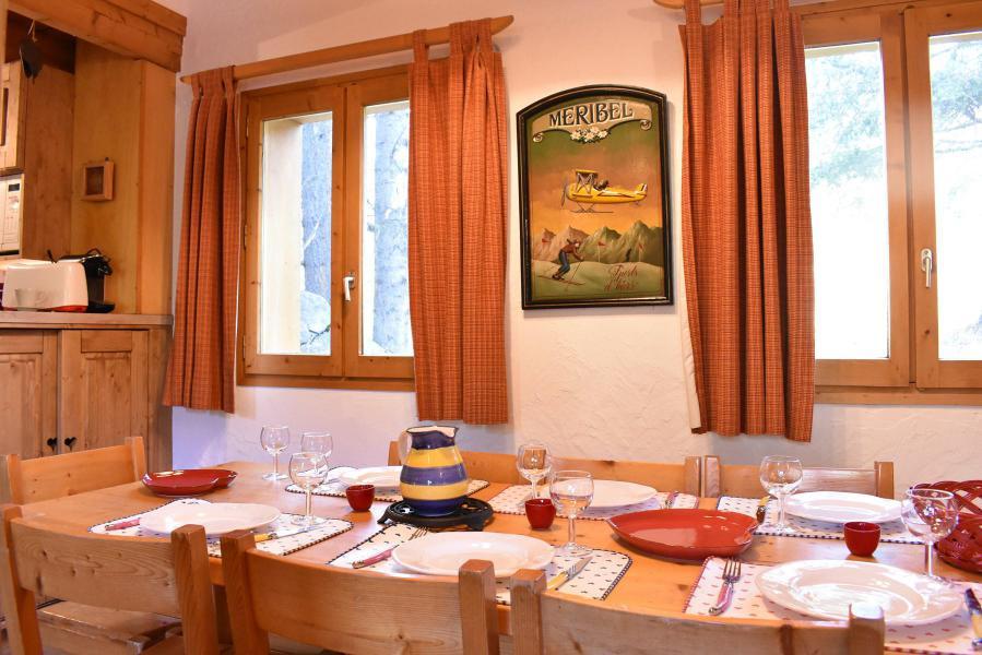Alquiler al esquí Chalet duplex 3 piezas para 6-8 personas (tarnad) - Chalet Tara - Méribel - Mesa
