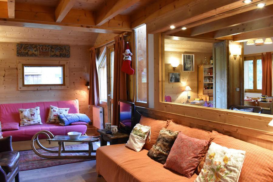 Alquiler al esquí Chalet duplex 3 piezas para 6-8 personas (tarnad) - Chalet Tara - Méribel - Sofá-cajón