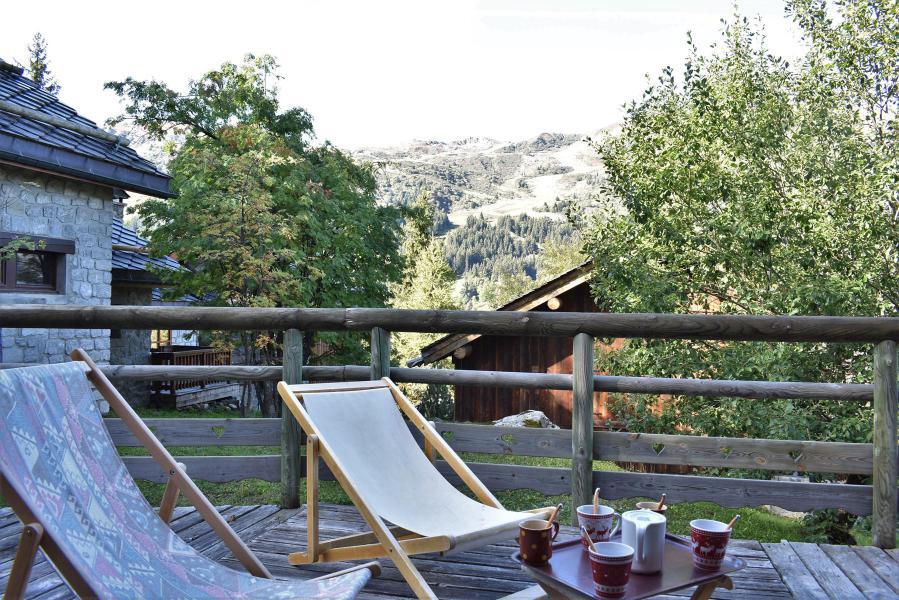 Alquiler al esquí Chalet duplex 3 piezas para 6-8 personas (tarnad) - Chalet Tara - Méribel - Terraza