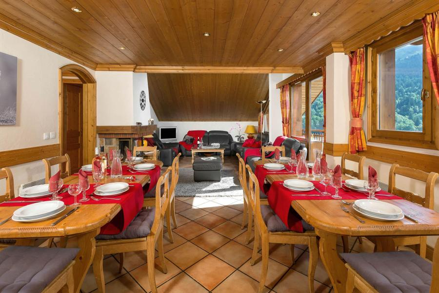 Location au ski Chalet Vallon - Méribel - Coin repas