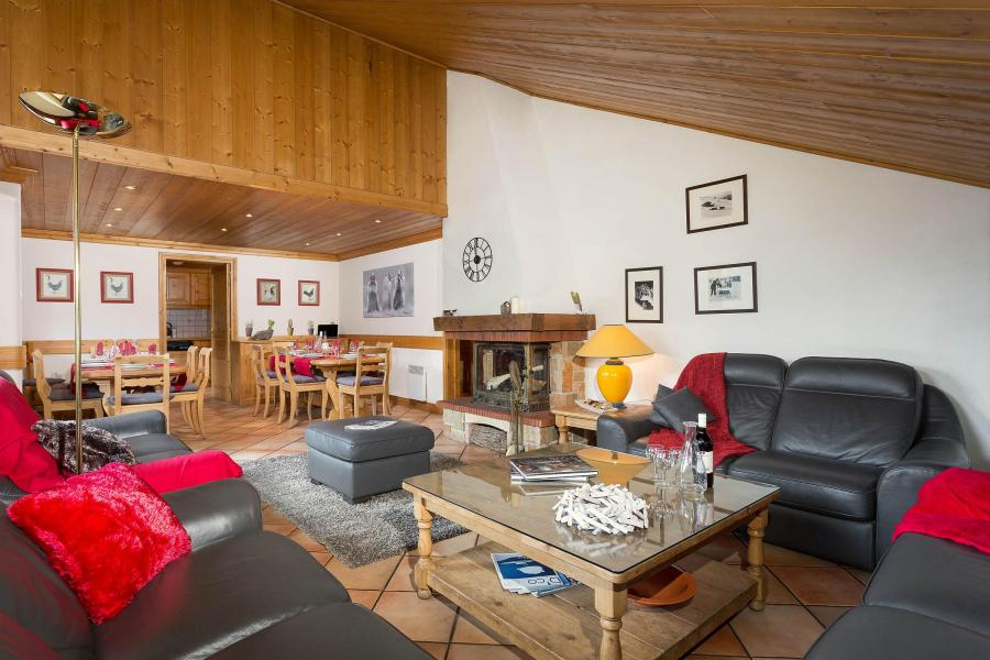 Location au ski Chalet Vallon - Méribel - Séjour