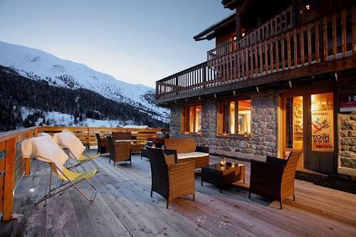 Location au ski Hotel Eliova Le Genepi - Méribel - Extérieur hiver