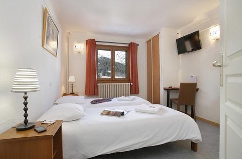 Wynajem na narty Hôtel Eliova le Génépi - Méribel - Pokój