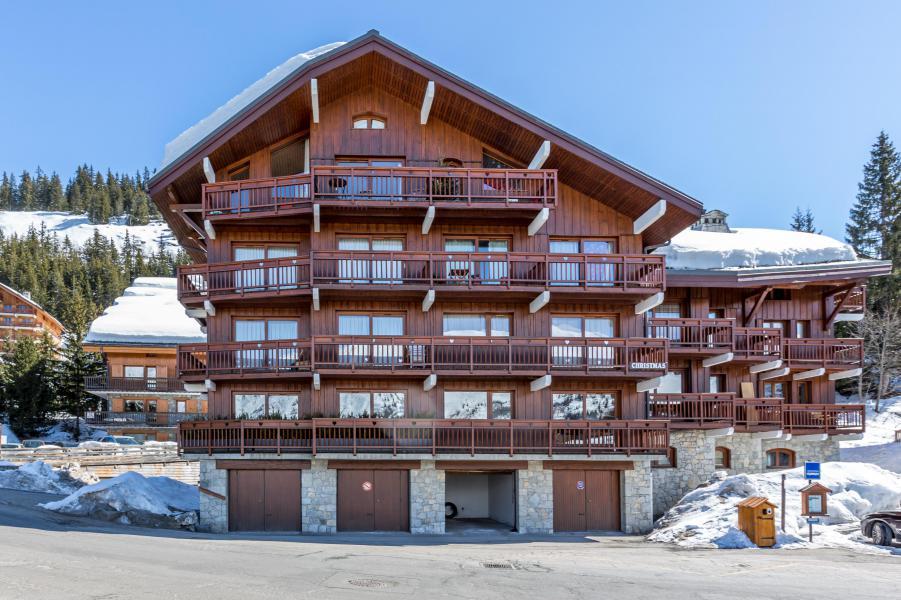 Location au ski La Résidence le Christmas - Méribel - Extérieur hiver