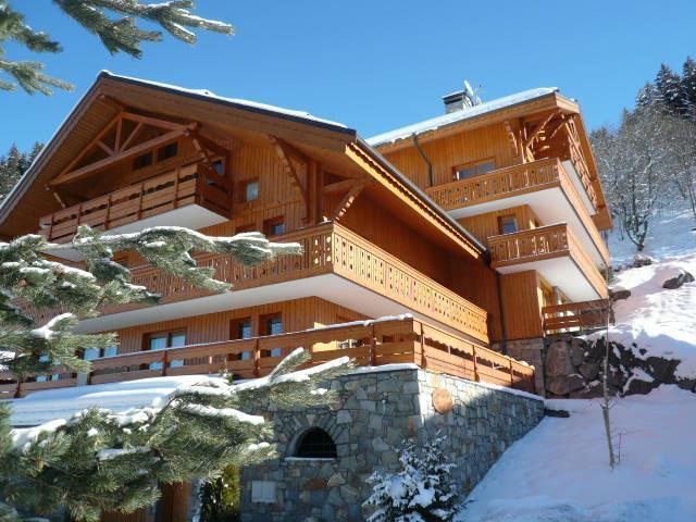 Location au ski La Résidence le Grand Duc - Méribel - Extérieur hiver