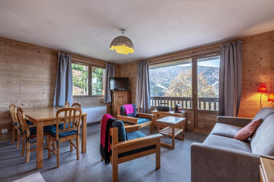 Alquiler al esquí Apartamento 3 piezas para 8 personas (12) - La Résidence le Surf - Méribel - Comedor