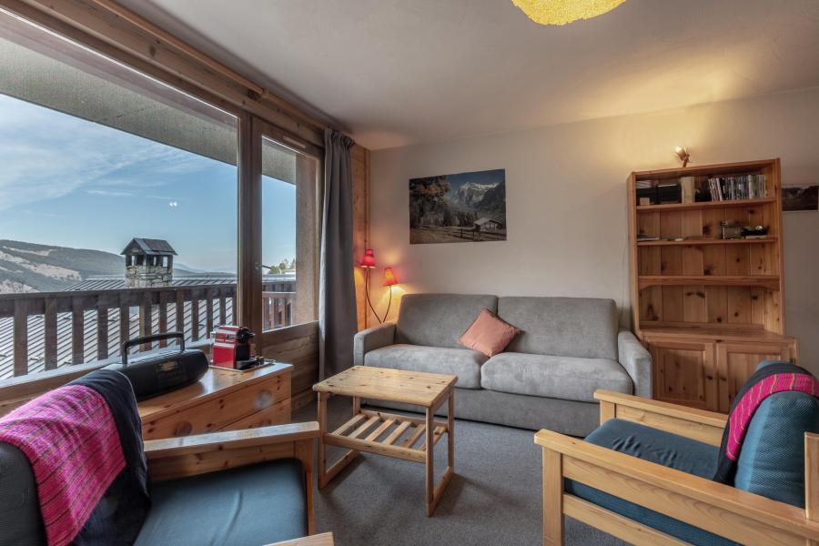 Location au ski Appartement 3 pièces 8 personnes (12) - La Résidence le Surf - Méribel - Séjour