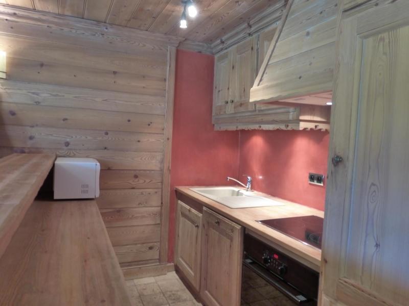 Аренда на лыжном курорте Апартаменты 3 комнат 6 чел. (40) - La Résidence les Brimbelles - Méribel - Небольш&