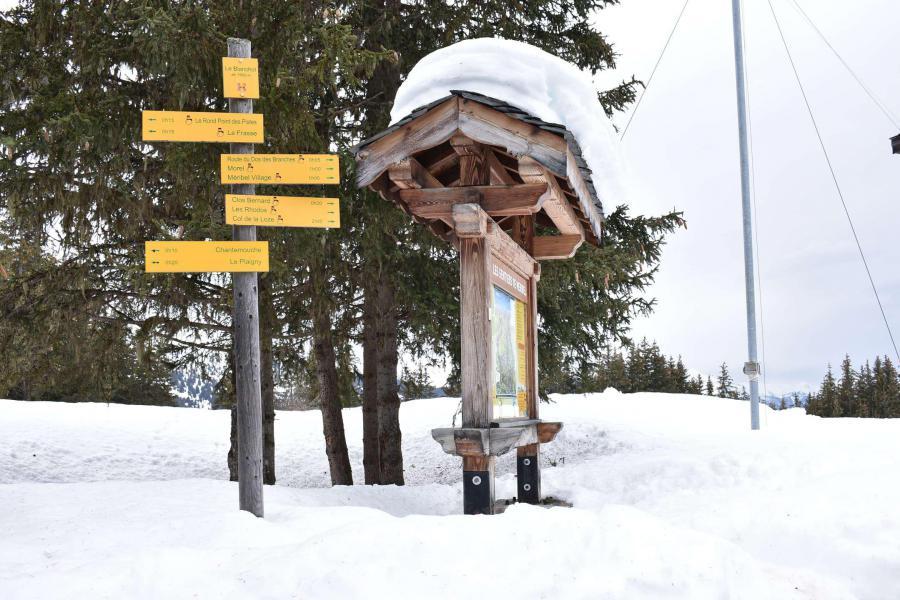 Alquiler al esquí Estudio -espacio montaña- para 4 personas (MRB220-028) - La Résidence les Dauphinelles - Méribel