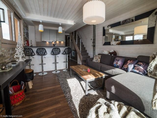 Ski verhuur Appartement 4 kamers bergnis 6 personen (007) - La Résidence Rimaye - Méribel
