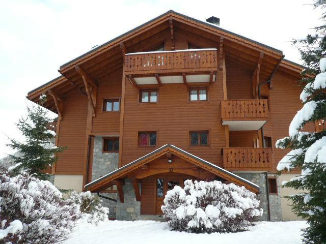Location au ski Résidence Bergerie des 3 Vallées E - Méribel