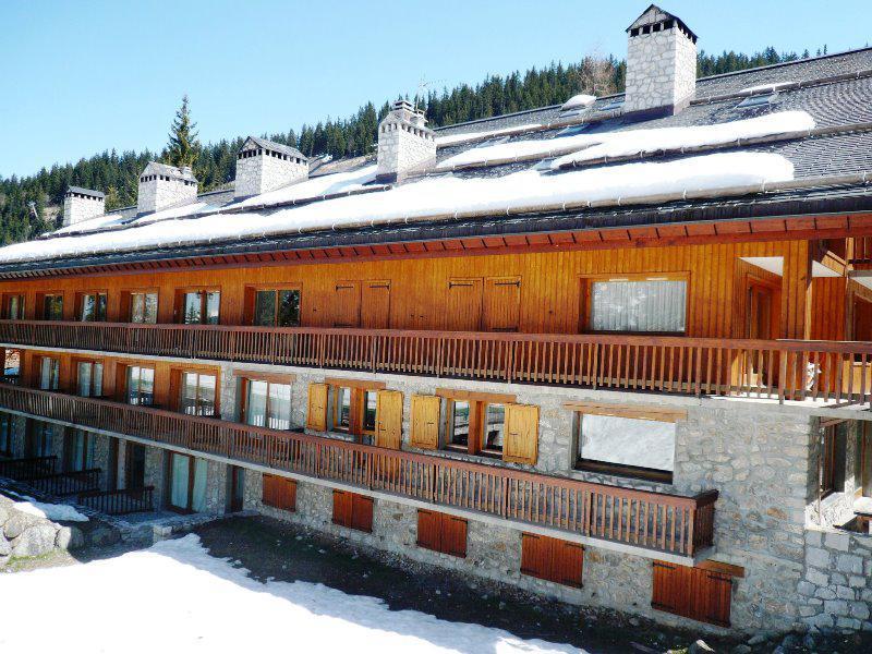 Location au ski Appartement 2 pièces 4 personnes (03) - Résidence Chasseforêt - Méribel - Extérieur hiver