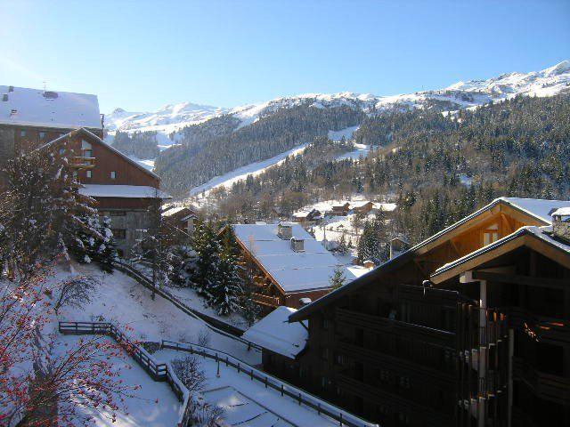 Location au ski Résidence Cristal - Méribel - Extérieur hiver