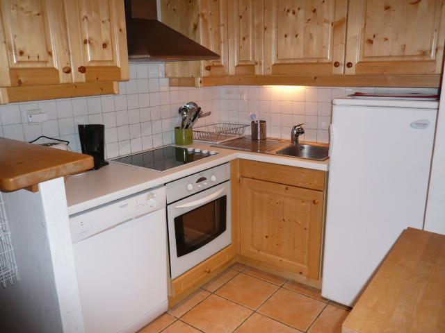 Location au ski Appartement 4 pièces 7 personnes - Résidence Dou du Pont - Méribel - Cuisine