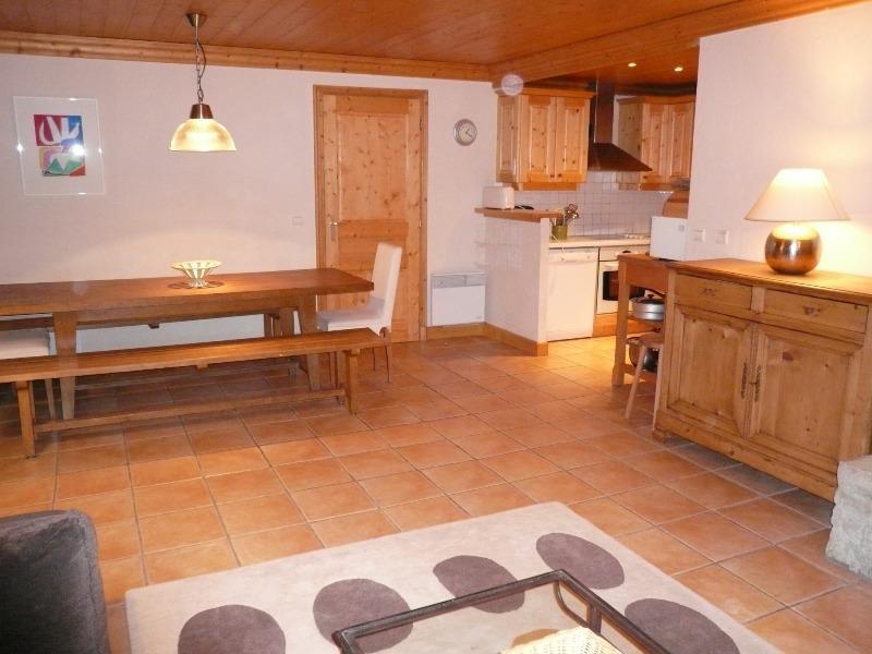 Location au ski Appartement 4 pièces 7 personnes - Résidence Dou du Pont - Méribel - Salle à manger