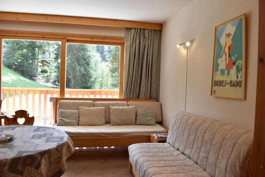 Alquiler al esquí Estudio -espacio montaña- para 4 personas - Résidence Eperonnelles - Méribel - Banqueta con cama cajón