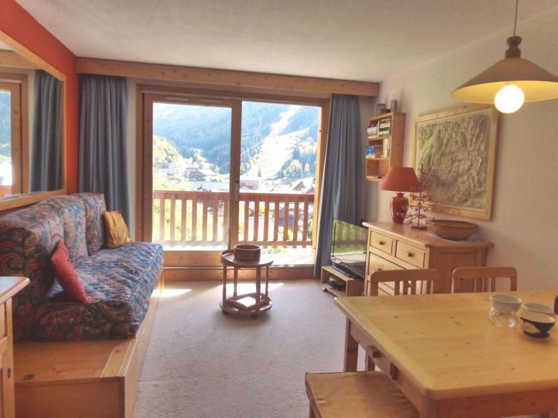Location au ski Appartement 2 pièces coin montagne 6 personnes (027R) - Résidence Ermitage - Méribel - Séjour