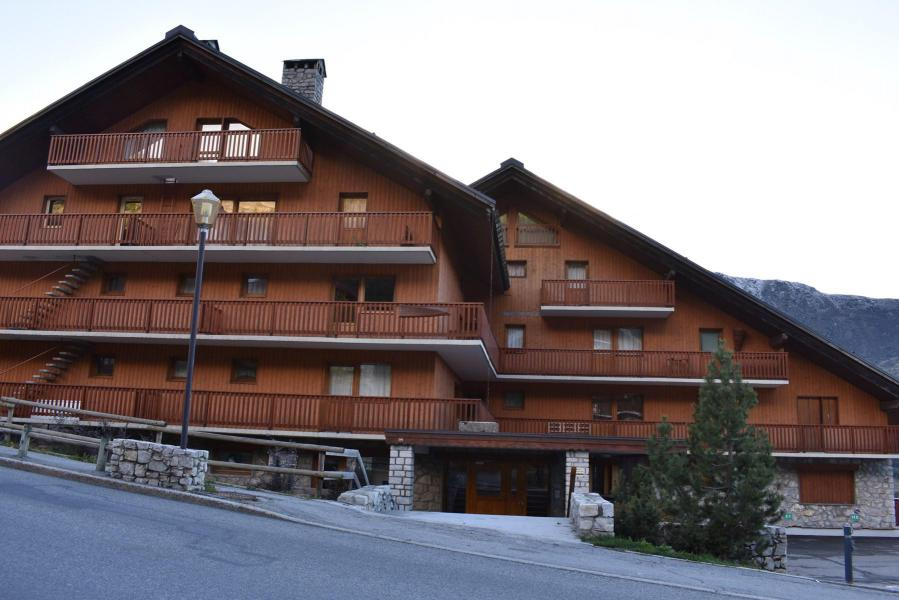 Holiday in mountain resort 3 room apartment 6 people (9C) - Résidence Frasse - Méribel - Winter outside