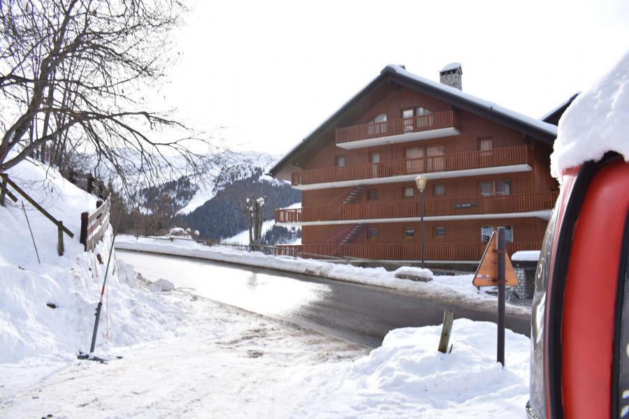 Alquiler al esquí Estudio para 4 personas (18H) - Résidence Frasse - Méribel